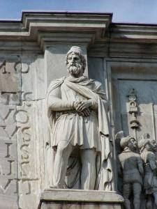 Statuie de dac, Roma